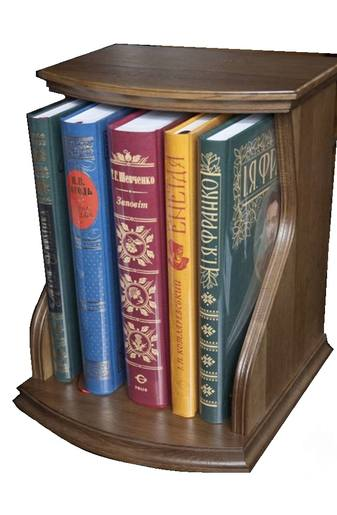 Комплект украинских книг в деревянной коробке
